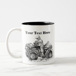 Custom ATV Gift Two-Tone Coffee Mug