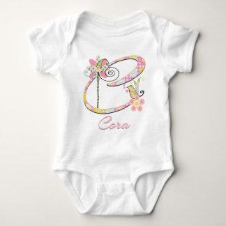 Custom Baby Bird Garden Baby Bodysuit