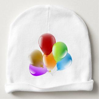 Custom Baby Cotton Beanie Balloons Image Baby Beanie