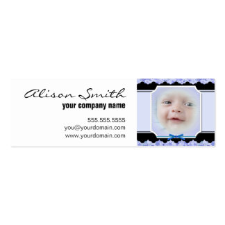 Custom baby I go phase Pack Of Skinny Business Cards
