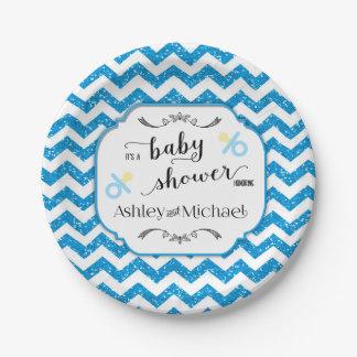 Custom Baby Shower Plates