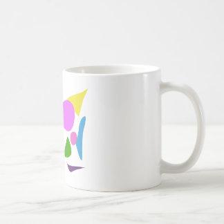 Custom Background Color Flower Dragon Basic White Mug