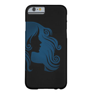 Custom Background Color ~ Lady iPhone 6/6s Barely There iPhone 6 Case