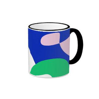 Custom Background Color Oriental Freedom Ringer Mug