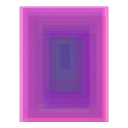 Custom Background Color Purple Core Custom Flyer