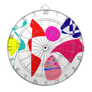 Custom Background Color Unbalance Dart Board