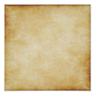 Custom Background Parchment Paper Template Poster