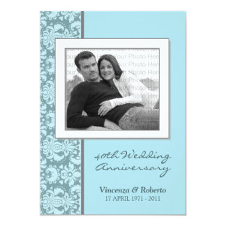 ::custom:: Baroque Save the Date Card