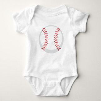 Custom Baseball Baby Jersey Bodysuit