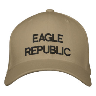 Custom Baseball Cap BY EAGLE REPUBLIC