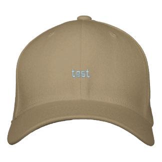 Custom Baseball Cap test