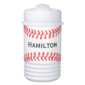 Custom Baseball Player or Team Name Igloo Drinks Cooler