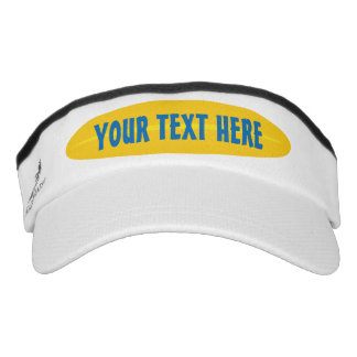 Custom beach sun visor cap for surfers