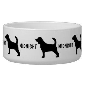 Custom Beagle Dog Bowl