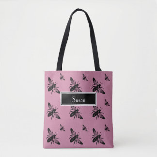 Custom Bee Bag Tote Tote Bag