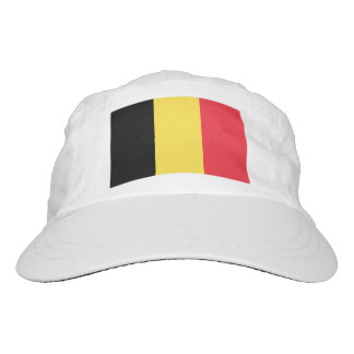 Custom Belgian flag knit and woven sports hats Hat