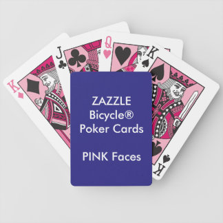 Custom Bicycle® Poker Playing Cards PINK FACES
