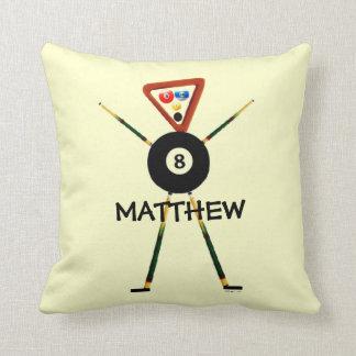 Custom Billiards Cartoon Cushion