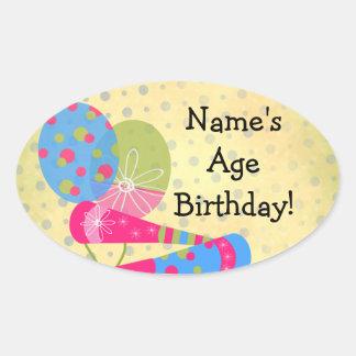 Custom Birthday Stickers