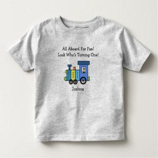 Custom Birthday Train Shirt