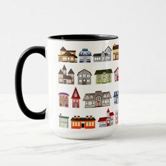 Custom Black 15 oz Ringer Home Sales 8 By ZAZZ_IT Mug