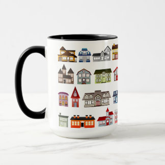 Custom Black 15 oz Ringer Home Sales By ZAZZ_IT Mug