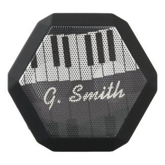 Custom Black and White Piano Keyboard. Add Name. Black Bluetooth Speaker