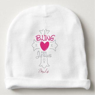 Custom Bling Life Baby Cotton Beanie Baby Beanie