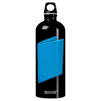 Custom Blue Binder Folder Greeting Playing Cards SIGG Traveller 1.0L Water Bottle