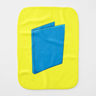 Custom Blue Binder Folder Shirt Kid Hoodies Jacket Burp Cloths