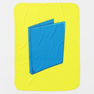 Custom Blue Binder Folder Shirt Kid Hoodies Jacket Receiving Blankets