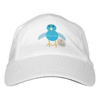Custom Blue Birthday Boy Chick Hat