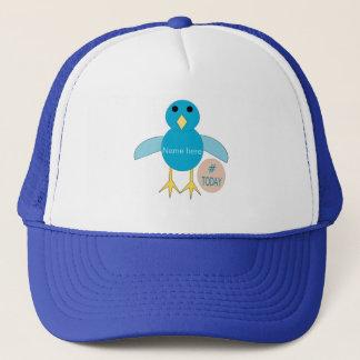 Custom Blue Birthday Boy Chick Hat