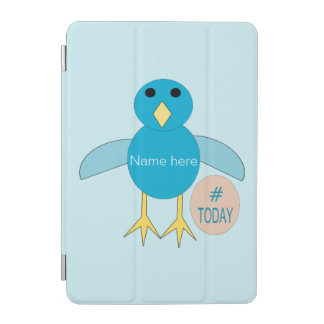 Custom Blue Birthday Boy Chick iPad Min Cover iPad Mini Cover