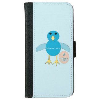 Custom Blue Birthday Boy Chick iPhone Case