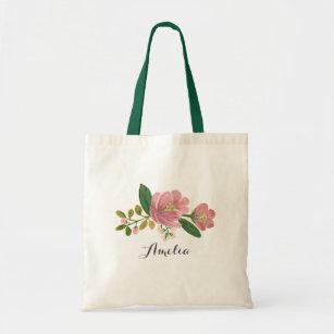 Custom   Blush Bouquet Tote Bag
