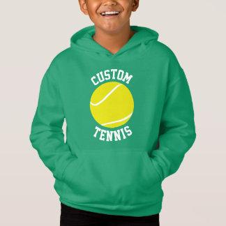 Custom Boys Tennis Hoodie Sweatshirt