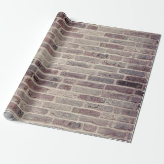 Custom Brick Wall Wrapping Paper