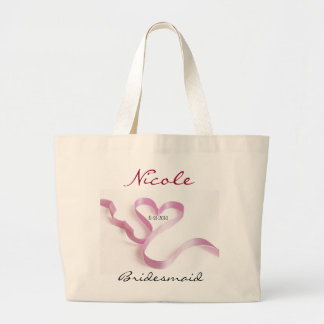 Custom Bridal Party Gifts Tote Bag Template