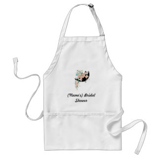Custom Bridal Shower Apron-Use as guestbook! Standard Apron