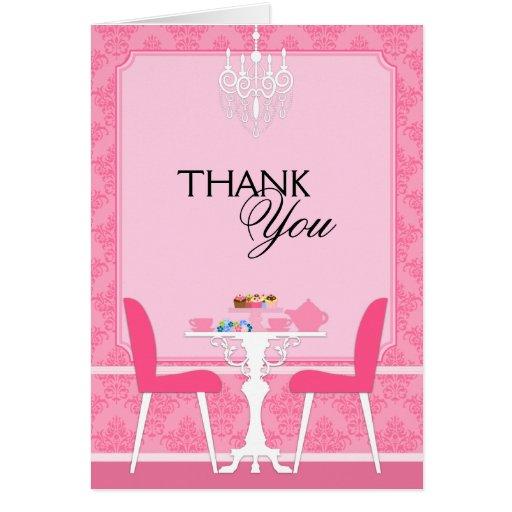 Custom Bridal Shower Thank You Cards