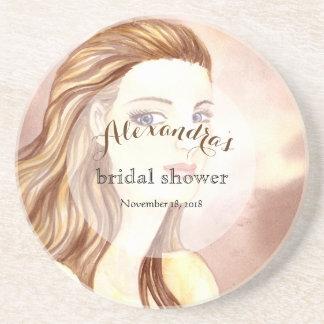 Custom Bridal Showers Portrait of a Lady Coaster
