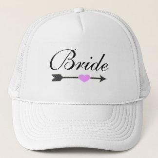 Custom Bride Wedding Trucker Hat Cap