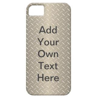 Custom Bronze Diamond Plate iPhone 5 Covers