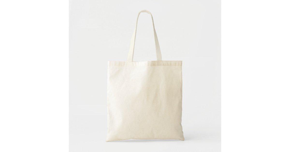 Custom Budget Tote Bag | Zazzle.com.au