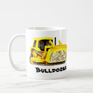 Custom Bulldozer Construction Coffee Mug