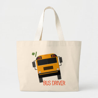 Custom Bus Graphics Bus Driver Tote Bag