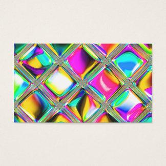 Custom Business Cards Unique 90s Psychadelic Art