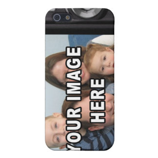 Custom Camera LCD Screen add your own photo iPhone 5/5S Cover
