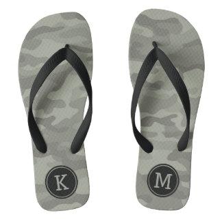 Custom Camo Camouflage Army Print Flip Flops